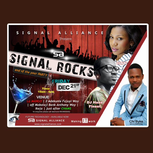 eInvitation Print Design and event management for Signal Alliance